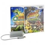 Battalion Wars 2 (Wii) + Mario Strikers Charged Football (Wii) + LAN Adapter (Wii)
