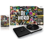 DJ Hero + контроллер Wireless Turntable (Wii)