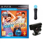 Комплект: DanceStar Party Hits (PS3) + Камера PS Eye + Контроллер PS Move - для PS Move - русская версия