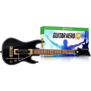 Guitar Hero Live (Xbox One) + гитара | Продажа и доставка видеоигр Икс Бокс