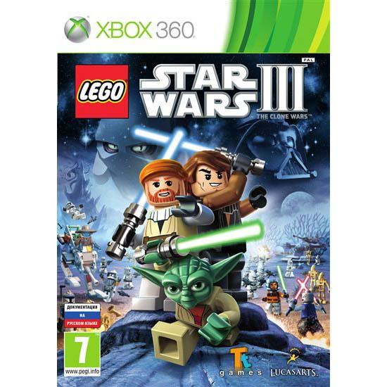 Lego star wars iii the clone wars xbox 360 продажа и