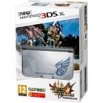 New Nintendo 3DS XL (серебристый) + Monster Hunter 4 Ultimate - Limited Edition
