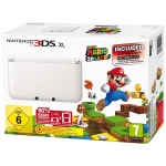Nintendo 3DS XL (белая) + Super Mario 3D Land