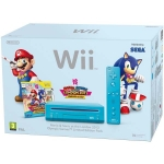 Nintendo Wii Mario & Sonic at the London 2012 Olympic Games Pack (голубая)