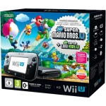 Nintendo Wii U Premium Pack (чёрная) - 32 Гб + New Super Mario Bros. U + New Super Luigi U