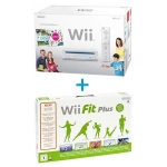 Nintendo Wii Family Edition (белая) + Wii Fit Plus + Balance Board