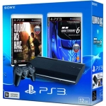 PlayStation 3 Super Slim (12 Гб) + Одни из нас + Gran Turismo 6