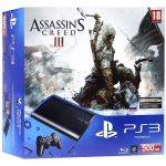 PlayStation 3 Super Slim (500 Гб) + Assassin's Creed 3