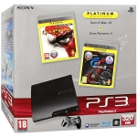 "PlayStation 3 Slim (320 Гб) + ""God of War 3. Platinum"" + ""Gran Turismo 5"""