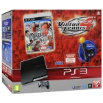 "PlayStation 3 Slim (320 Гб) + ""Virtua Tennis 4"" + контроллер PlayStation Move + камера PlayStation Eye"