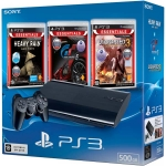PlayStation 3 Super Slim (500 Гб) + Heavy Rain + GT5 + Uncharted 3