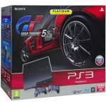 "PlayStation 3 Slim (320 Гб) + ""Gran Turismo 5. Platinum"" + 2 геймпада Dualshock 3 Wireless Controller"