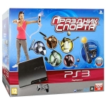 "PlayStation 3 Slim (320 Гб) + ""Праздник Спорта"" + камера PlayStation Eye + контроллер PlayStation Move"