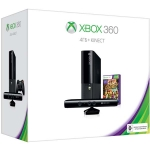 Xbox 360 E (4Гб) + сенсор Kinect + Kinect Adventures