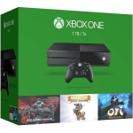 Xbox One (1Tb) + Gears of War Ultimate + Rare Replay + Ori and the Blind Forrest