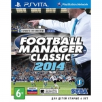 Football Manager Classic 2014 (PS Vita) - русская версия