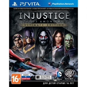 Injustice: Gods Among Us. - Ultimate Edition (PS Vita) | Продажа и доставка видеоигр PlayStation